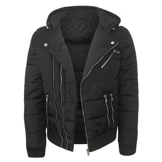 Repair Men's Black Nylon Quilted Jacket|https://ak1.ostkcdn.com/images/products/13780379/P20432503.jpg?impolicy=medium