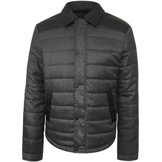 Repair Men's Grey Nylon Quilted Jacket
