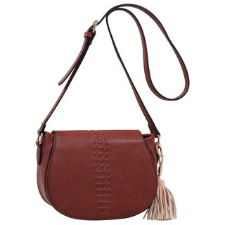 MKF Collection Rebecca Tassle Saddle Bag by Mia K. Farrow