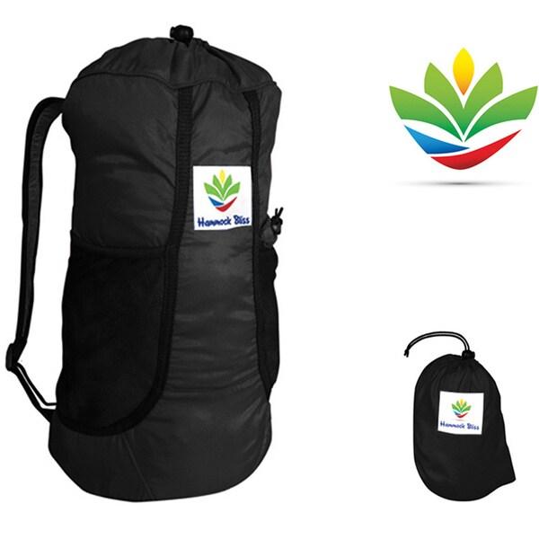 Hammock Bliss Ultralight Travel Daypack - Black