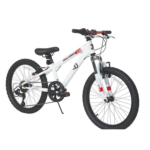 Dynacraft 20-inch Throttle Bike - White