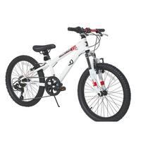 Dynacraft 20-inch Throttle Bike - White
