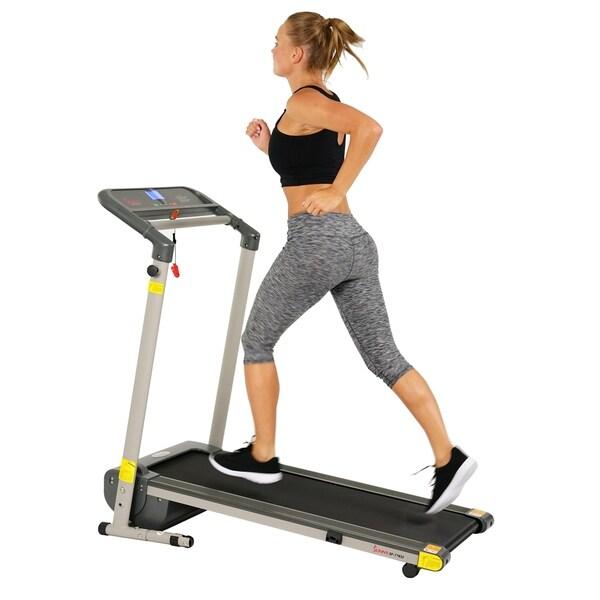 Sunny Health & Fitness SF-T7632 Space-saving Folding Treadmill