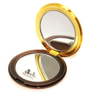 Round Compact Mirror with 5x Magnification