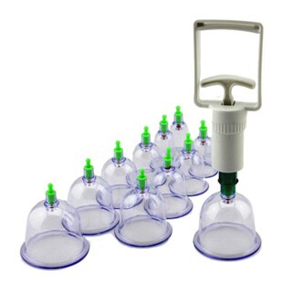 Body Cupping 15-piece Massage Set for Stress and Muscle Relief