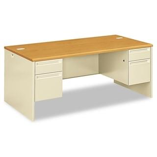 HON 38000 Series Double Pedestal Desk, 72w x 36d x 29-1/2h