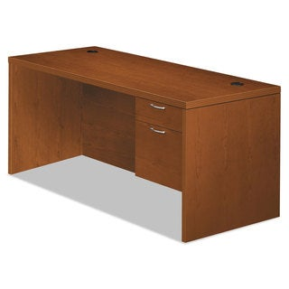 HON Valido 11500 Series Right Pedestal Desk, 66w x 30d x 29 1/2h, Bourbon Cherry
