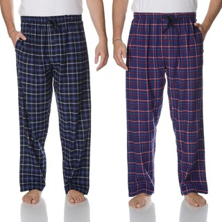 Hanes Men's Blue Flannel Lounge Pant (2-pack)