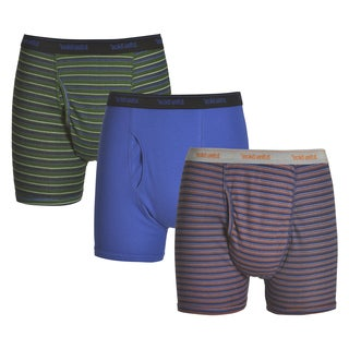 Ecko Unlimited Men's 3-pack Green/Red/Blue Boxer Briefs