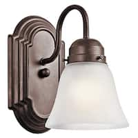 Kichler Lighting Utilitarian 1-light Tannery Bronze Wall Sconce