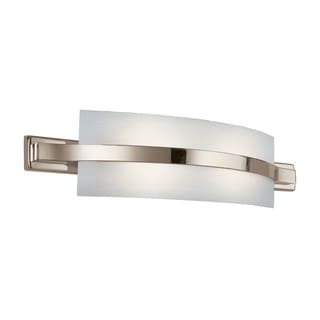 Kichler Lighting Freeport Collection 2-light Polished Nickel Fluorescent Wall Sconce