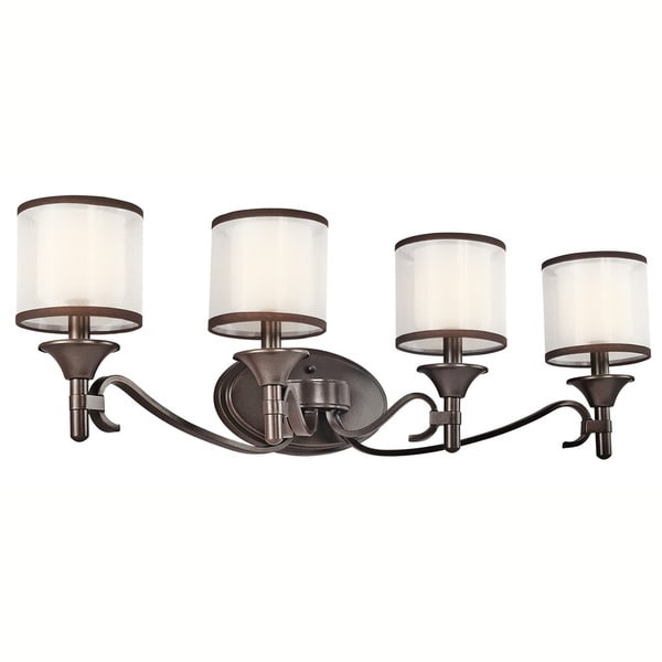 Kichler Lighting Reviews: Shop Kichler Lighting Lacey Collection 4-light Mission