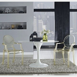 Olivia Classic Yellow Dining Chairs