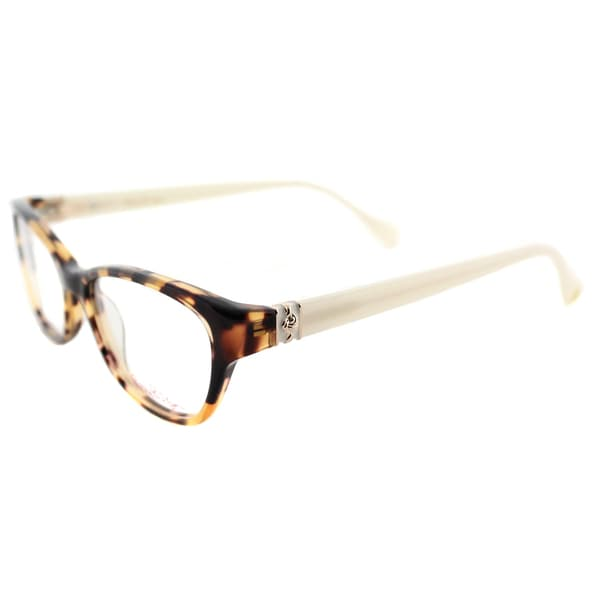 687e7c20b3 Shop Lilly Pulitzer  Holbrook  Tortoise Cat-Eye Glasses (50 mm ...