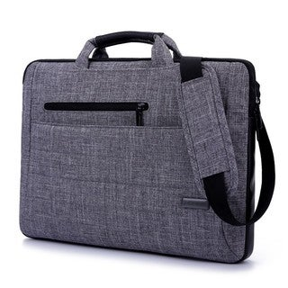 Something Strong Grey Laptop Messenger Bag