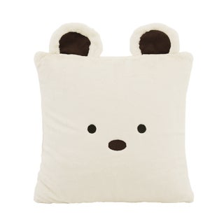 Aurora Home Animal Plush Faux Fur 18-inch Throw Pillow (More options available)