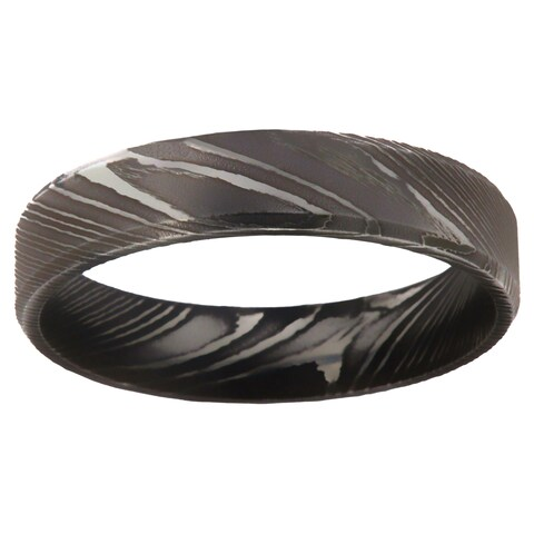Damascus Steel Men's Ring