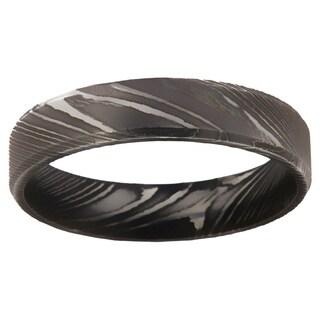 Damascus Steel Men's Ring