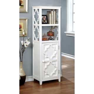 Alps Tall Cabinet With Glass Door And Drawer Free