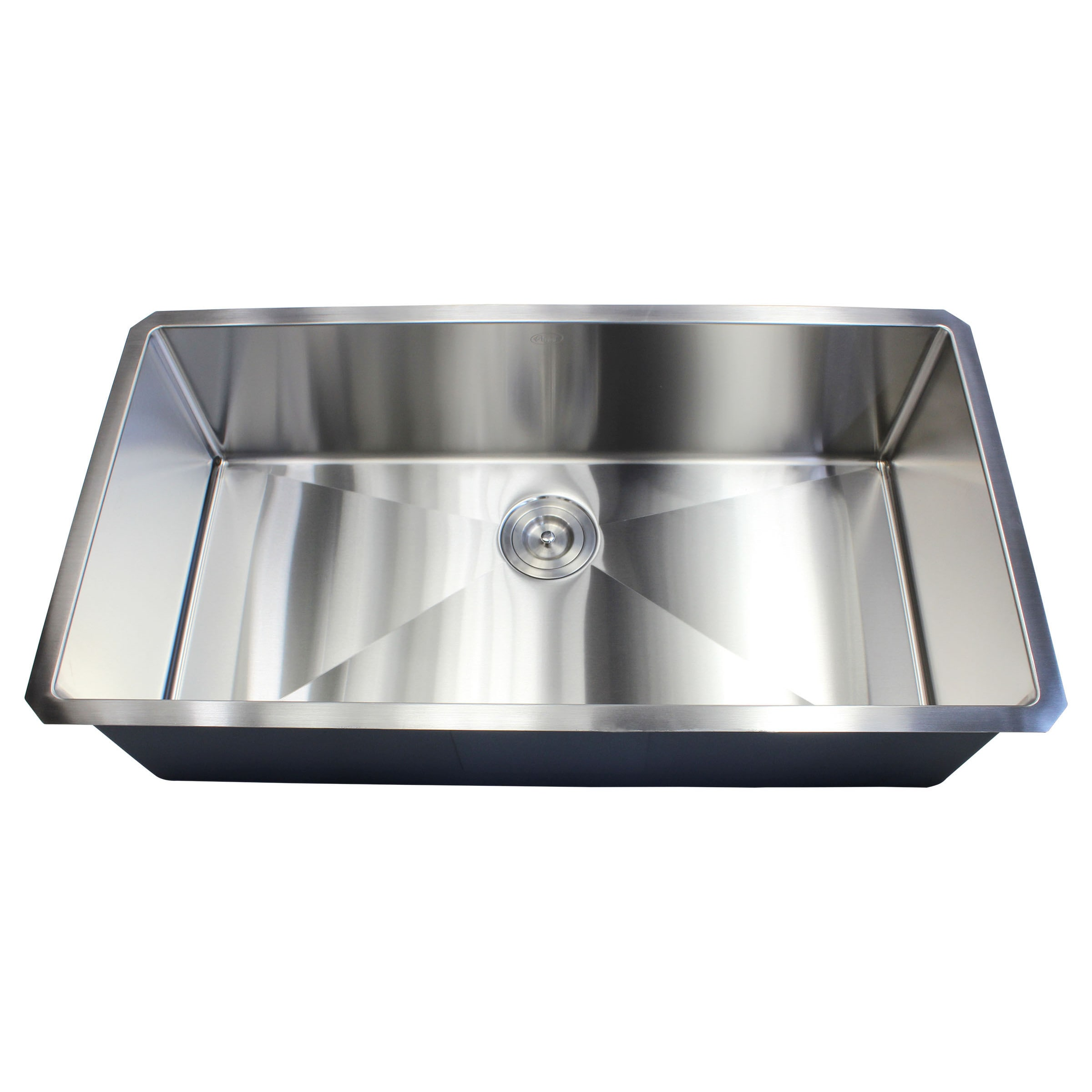 Exceptional Ariel 36 Inch Stainless Steel Single Bowl 15mm