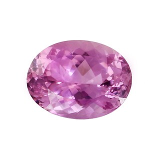 Loose Oval Cut 22.3x16.3mm 28.63ct Martha Rocha Kunzite Gemstone