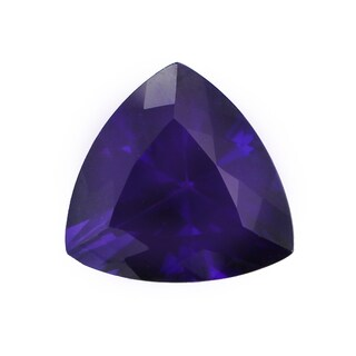 Loose Trillion Cut 14.9x14.9mm 9.63ct Congo Amethyst Gemstone