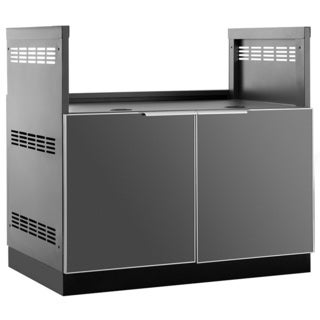 """NewAge Products Outdoor Kitchen 40""""x 23"""" D Insert Grill Cabinet"""