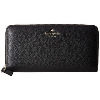 Kate Spade New York Cobble Hill Lacey Black Leather Wallet