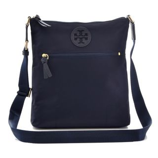 Tory Burch Ella' Navy Nylon Swingpack Crossbody Handbag