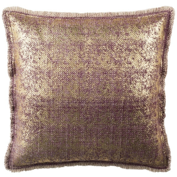 Shop Safavieh 40inch Metallic Sponge Dusty Raspberry Decorative New Raspberry Decorative Pillows