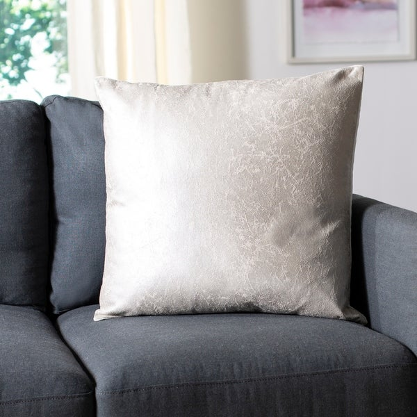 Safavieh 20-inch Jaxon Crush Frost Decorative Pillow