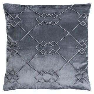 Safavieh 20-inch Lucius Argyle Dream Blue Decorative Pillow