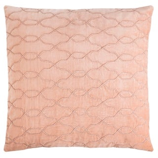 Safavieh 22-inch Kas Link Blush Decorative Pillow