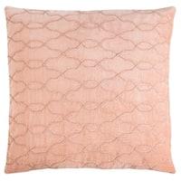 Safavieh 22-inch Kas Link Blush Decorative Pillow