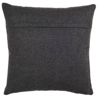 Safavieh 22-inch Perry Hounds Tooth Grey Decorative Pillow
