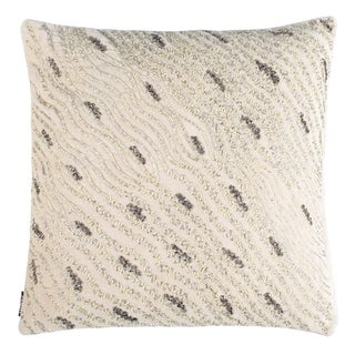 "Safavieh 20-inch Silver Mint Sparkles 20"" Pillo Beige / Green Decorative Pillow"