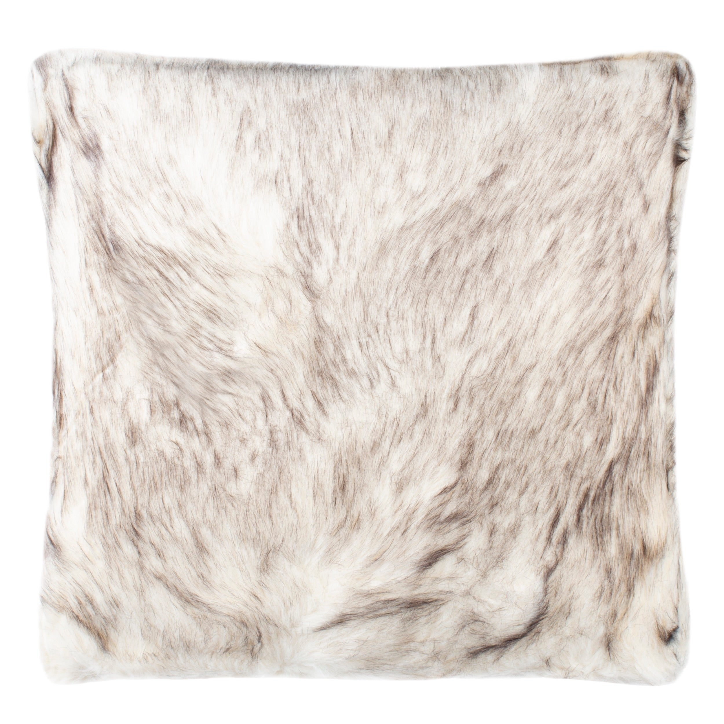 Safavieh 20 Inch Coco Tips Taupe Decorative Pillow
