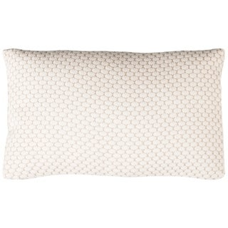 Safavieh 20-inch Sweet Knit Natural / Stone Decorative Pillow