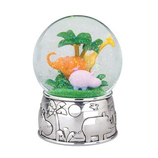 Reed Barton Jungle Parade Multicolor Metal and Glass Waterglobe