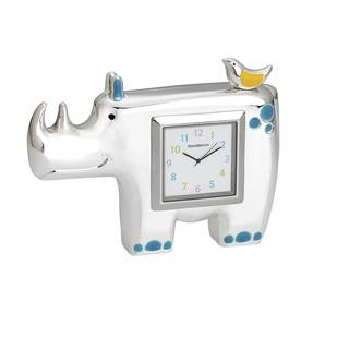 Reed Barton Jungle Parade Rhino Clock