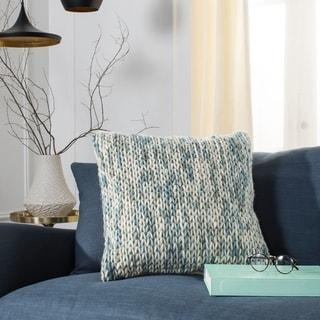 Safavieh 20-inch All Over Braid Artic Blend Decorative Pillow