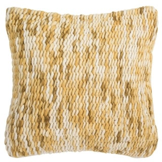 Safavieh 20-inch All Over Weaving Tuscan Sun Decorative Pillow