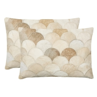 Safavieh 20-inch Elita Multi/Cream Decorative Pillow (Set Of 2)