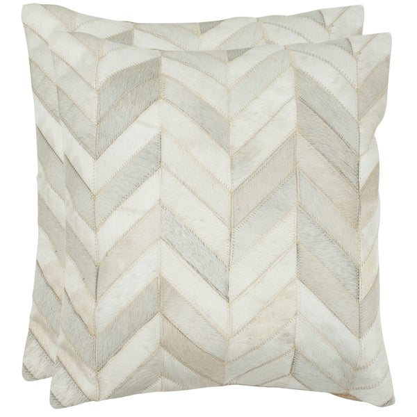 Shop Safavieh 40 X 40inch Marley White Rectangular Decorative Best Rectangular Decorative Pillows For Couch