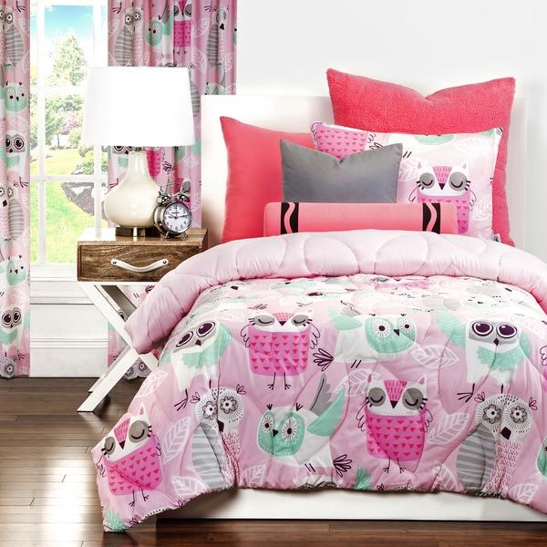 Crayola Night Owl 3-piece Comforter Set