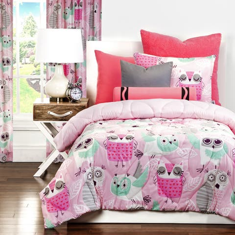 Crayola Night Owl 3-piece Comforter Set
