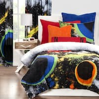 Crayola Out of This World 3-piece Comforter Set