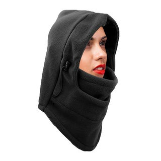 Unisex Heavyweight Adjustable Fleece Cover up Balaclava