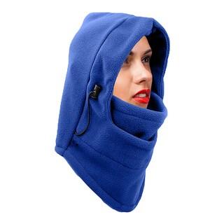 Unisex Heavyweight Adjustable Fleece Cover up Balaclava
