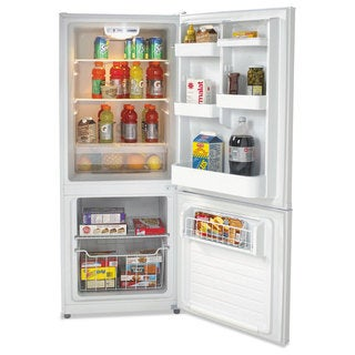 Avanti Bottom Mounted Frost-Free Freezer/Refrigerator, 10.2 Cubic Feet, White